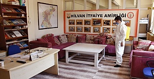 Hilvan'da Covid-19 ile mücadele devam ediyor