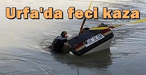 Kanala Düşen Otomobilden Amca ve Yeğenin Cesetleri Çıkarıldı