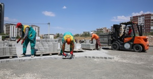 Karaköprü Atakent Yolları Yapılıyor