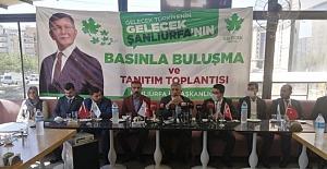 Şanlıurfa Gelecek Parti İlçe Başkanlarını açıkladı