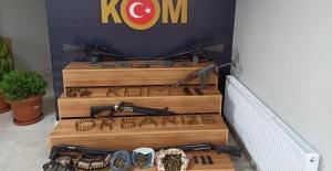 Siverek'te silah kaçakçılığı operasyonu: 4 gözaltı