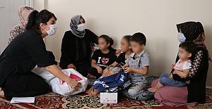 Eşinden Şiddet Gören Aileye Şanlıurfa Büyükşehir Sahip Çıktı