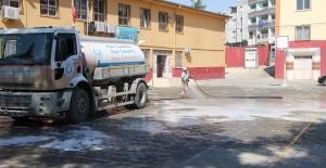 Haliliye İlçesindeki okullar dezenfekte ediliyor