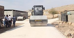Kış Öncesi Eyyübiye'de Yol Çalışmaları Başlatıldı
