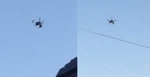 Şanlıurfa'da dronelerle koronavirüs denetimi
