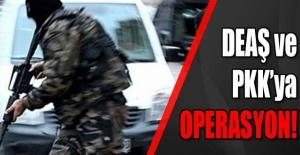 Şanlıurfa'nın 3 İlçesinde PKK ve DEAŞ Operasyonu: 5 Gözaltı var