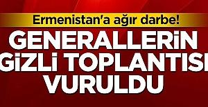Son Dakika! Azerbeycan Ermenistan'da Generalleri Gizli Toplatısında vurdu