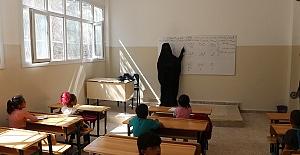 Telabyad ve Resulayn'da, 2020-2021 Eğitim Öğretim Başladı