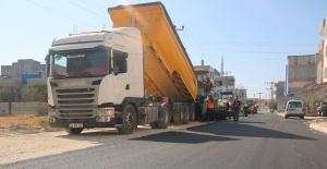 Birecik ve Suruç'ta yollar asfaltlanıyor