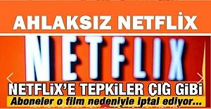 Ahlaksız Netflix'e tepki yapıyor! 10 kat Abone kaybına uğradı
