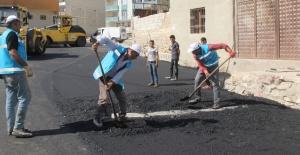Eyyübiye'de Asfalt Serim Çalışmaları...
