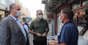 Eyyübiye'yi Sokak Sokak Dolaşıyor