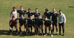 Kupa maçında Karaköprü Belediyespor Osmaniyespor 1-0
