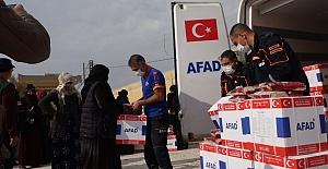 AFAD, Barış Pınarında İnsani Yardımlara Devam Ediyor