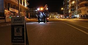 Belediye sokakların boşalmasını fırsata çevirdi