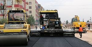 Büyükşehir Viranşehir'de Asfalt Çalışmalarına başladı