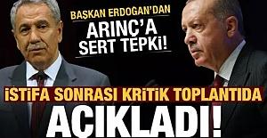 Erdoğan Bülent Arınç'la Telefonla Konuşmuş, İlginç Diyalogu Erdoğan Paylaştı
