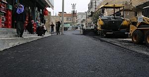 Eyyübiye'de asfalt serimi