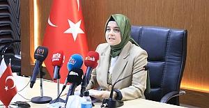 Şanlıurfa AK Partili Kadınlar 81 İlle Birlikte Basın Açıklaması Yaptı