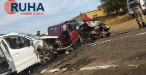 Siverek'te kafa kafaya trafik kazası: 10 yaralı