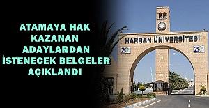 Harran Üniversitesi İşçi alımı...