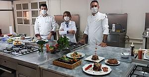 Urfa'dan Konuk Şefler Uzaktan Eğitim Mutfak Dersi