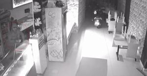Bir gecede 6 iş yerini soyan hırsız güvenlik kamerasına yakalandı