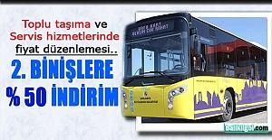 Büyükşehir#039;den Toplu Taşıma...