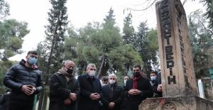 Gazelhan Kazancı Bedih mezarı başında anıldı