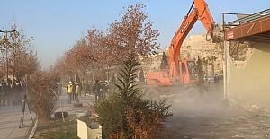 Haleplibahçe'deki Tarihi Silüet Gün Yüzüne Çıkarılıyor
