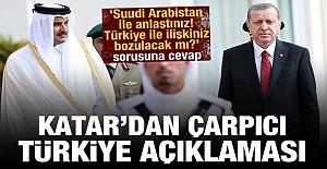 Katar'dan açıklama: Türkiye ve İran'la olan ilişkilerini...