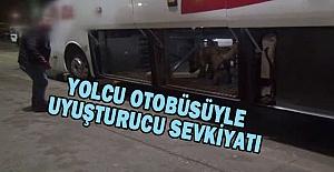 Mardin'den gelen yolcu otobüsünde esrar yakalandı