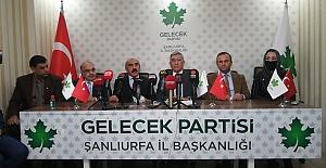 Şanlıurfa'da 5 Parti Ortak Basın Toplantısı Düzenledi