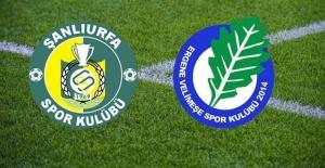 Şanlıurfaspor 2 - 2 Velimeşespor