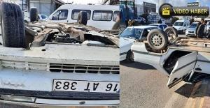 Eyyübiye kavşağında trafik kazası: 1 ölü