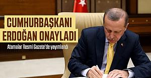 Erdoğan İmzaladı! Atama kararları Resmi Gazete'de
