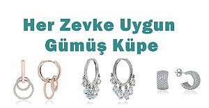 Gümüş Küpe Modelleri