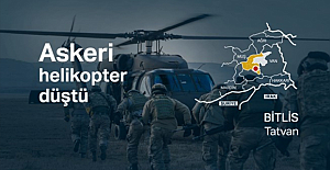 Bitlis'in Tatvan İlçesinde Düşen Askeri Helikopter kazasında 11 asker şehit oldu