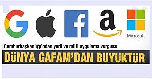 Dünya 5 Dijital dev firmadan GAFAM'dan büyüktür