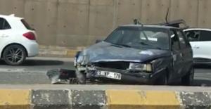 İpekyol Caddesi'nde trafik kazası