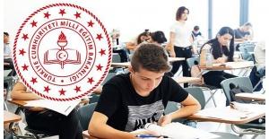 Milli Eğitim Bakanlığı açıkladı: Sınavlar ertelendi