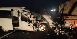 Siverek yolunda trafik kazası: 1 kişi yaralandı