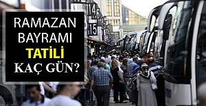 Eve Kapatılan Türkiye'de 2021 Bayram Tatili Kaç Gün Olacak? Açıklama Geldi