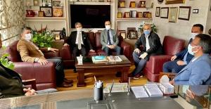 Şanlıurfa Başsavcısı Önder Yeniçeri'den Gazetecilere iadeyi ziyaret