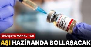 Yerli Aşı Haziran'da Yapılmaya Başlanıyor