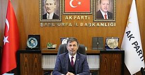 Ak Parti Urfa İl Başkanı Kırıkçı'dan Kadir Gecesi Mesajı