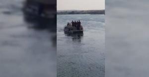 Fırat Nehri'nde 8 gündür aranıyor