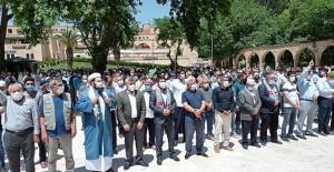 Şanlıurfa'da Filistinli şehitler için gıyabi cenaze namazı kılındı