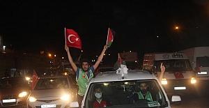Urfa'da Mescid-i Aksa İçin destek konvoyu oluşturdular