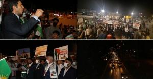 Urfalılar meydanda haykırdı, İslam ordusu Mescid-i Aksa için harekete geçsin